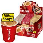 Nescafe Stick 75'li Karma Paket Alana 100'lü Karton Bardak Hediye