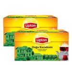 Lipton Demlik Poşet Çay Doğu Karadeniz 100'lü - %25 İndirimli 2'li Paket