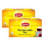 Lipton Demlik Poşet Çay Yellow Label 100'lü - %25 İndirimli 2'li Paket