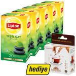 Lipton Bitki Çayı Yeşil Çay 5 Paket (Balparmak Bal Hediyeli)