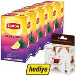 Lipton Bitki Çayı Nane Limon 5 Paket (Balparmak Bal Hediyeli)