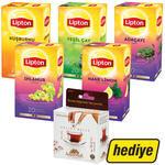 Lipton Bitki Çayı Karışık 5 Paket (Balparmak Bal Hediyeli)