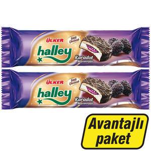 Ülker Halley Mini Karadut Dolgulu 74 gr – 2.'si %50 İndirimli Paket