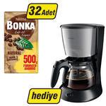 Nestle Bonka Filtre Kahve 500 gr x 32 (Philips Daily Collection Filtre Kahve Makinesi Hediyeli)