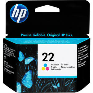 HP 22 Üç Renkli Kartuş C9352AE