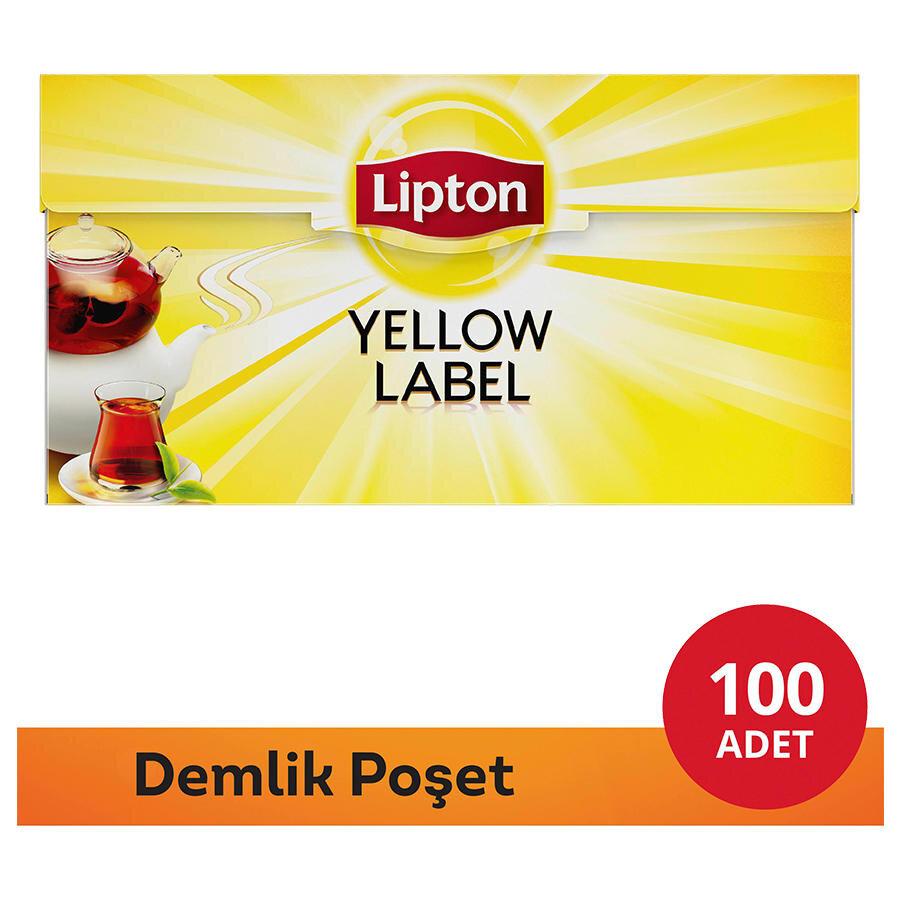 lipton demlik po et ay yellow label 100 39 l. Black Bedroom Furniture Sets. Home Design Ideas