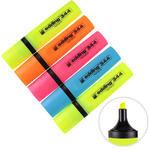 Edding 344 Fosforlu Kalem Karışık Renk 5'li Paket