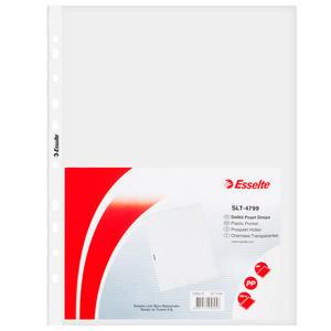 Esselte 4799 A4 Delikli Şeffaf Poşet Dosya 100'lü Paket