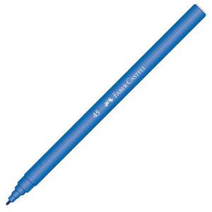 Faber Castell 45 Keçeli Kalem Mavi 10'lu Paket