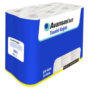 Avansas Soft Tuvalet Kağıdı 24'lü Paket