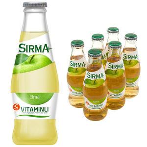 Sırma Vitaminli C-Plus Elma Maden Suyu 200 ml 6'lı Paket