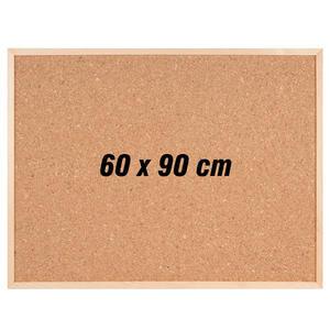 İnter Mantar Pano Ahşap Çerçeveli 60 cm x 90 cm