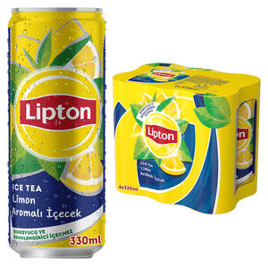 Lipton Ice Tea Limon 330 ml 6'lı Paket