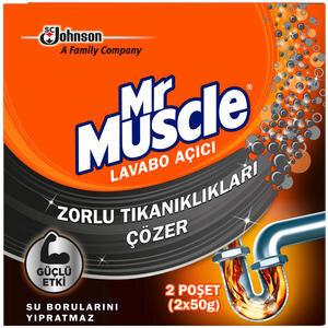 Mr.Muscle Toz Lavabo Açıcı 50 gr 2'li Paket