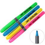 Bic Brite Liner Fosforlu Kalem Karışık Renkli 4'lü Paket