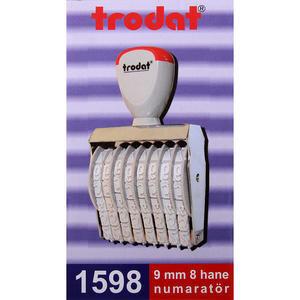 Trodat 1598 Numaratör 9 mm 8 Hane