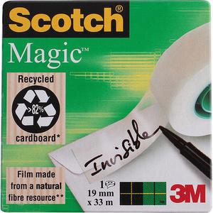3M Scotch 810 Magic Bant (Görünmez) 19 mm x 33 m