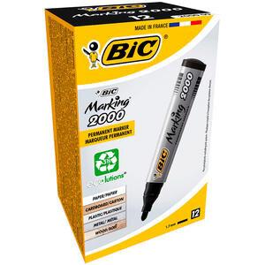 Bic 2000 Marker Kalem Yuvarlak Uç Siyah