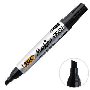 Bic 2300 Marker Kalem Kesik Uç Siyah