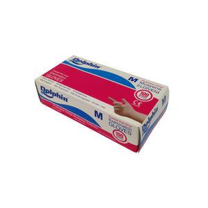 Dolphin Vinyl Muayene Eldiveni Pudrasız Medium 100'lü Paket