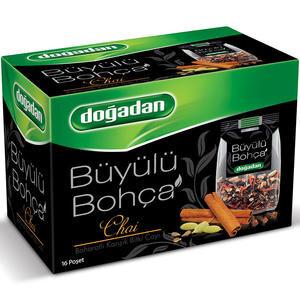 Doğadan Büyülü Bohça Chai Karışık Baharat Çayı 16'lı Paket