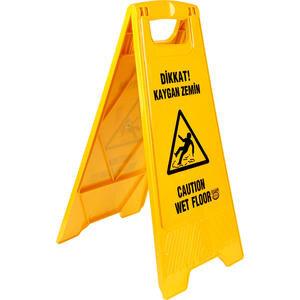 Kaygan Zemin PVC Uyarı Levhası 63 cm x 30 cm