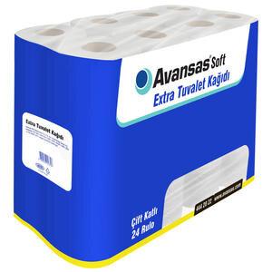 Avansas Soft Extra Tuvalet Kağıdı 24'lü Paket