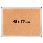 İnter Mantar Pano Alüminyum Çerçeveli 45 cm x 60 cm