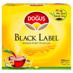 Doğuş Black Label Bardak Poşet 100'lü Paket