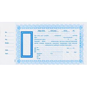 Ulaş Bono Kağıdı Geniş 50'li Mavi
