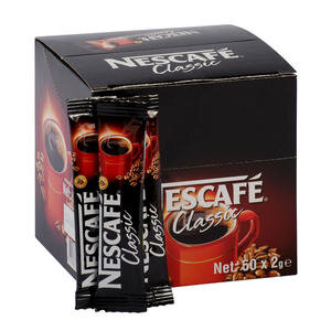 Nescafe Classic Kahve 2 gr 50'li Paket