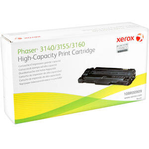 Xerox 108R00909 Phaser 3140/3155/3160 Yüksek Kapasiteli Siyah Toner 2500 sayfa