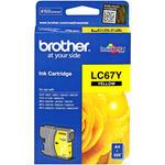 Brother LC67Y Sarı (Yellow) Kartuş
