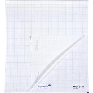 Legamaster Magic Chart Statik Flipchart Kağıdı 60 cm x 80 cm Kareli Markör Kalem Hediyeli