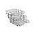 Ark 2083 Evrak Rafı Plastik Hareketli Şeffaf 3'lü