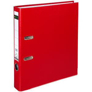 Leitz 1015 Plastik Klasör Dar A4 Kırmızı