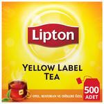 Lipton Bardak Poşet Çay Yellow Label 500'lü