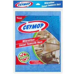 Ceymop Mikrofiber Genel Temizlik Bezi 40 cm x 40 cm