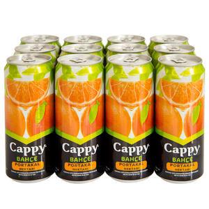 Cappy Meyve Suyu Portakal Teneke Kutu 330 ml 12'li Paket