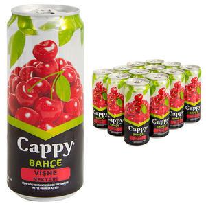 Cappy Meyve Suyu Vişne Teneke Kutu 330 ml 12'li Paket