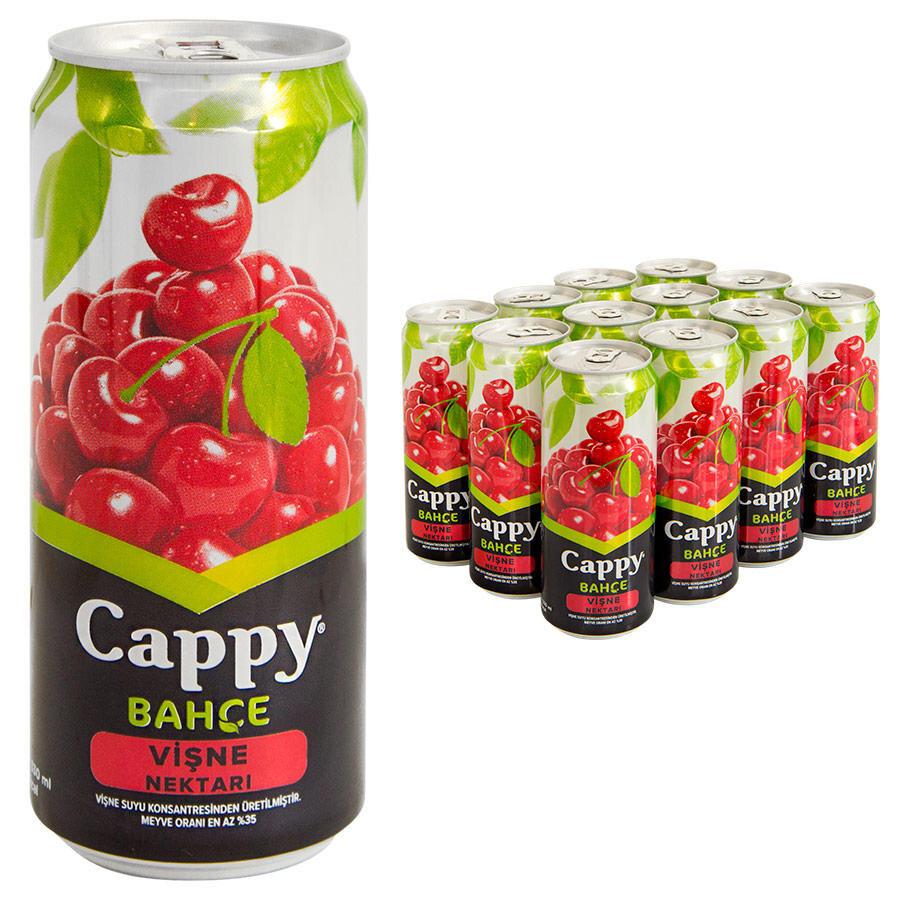 Cappy Meyve Suyu Visne Teneke Kutu 330 Ml 12 Li Paket Avansas