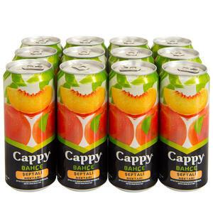 Cappy Meyve Suyu Seftali Teneke Kutu 330 Ml 12 Li Paket Avansas