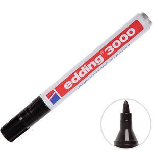 Edding 3000 Marker Kalem Yuvarlak Uç Siyah