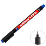 Edding 147S Asetat Kalemi 0.3 mm Uçlu Mavi 4'lü Kutu