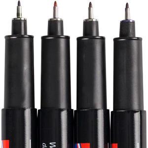 Edding 147S Asetat Kalemi 0.3 mm Uçlu Karışık Renk 4'lü Kutu