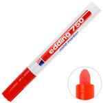 Edding 750 Boya Markörü Kalem Yuvarlak Uçlu Kırmızı