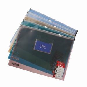 Globox A4 Fermuarlı Dosya Karışık Renkler 12'li Paket