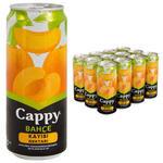 Cappy Meyve Suyu Kayısı Teneke Kutu 330 ml 12'li Paket