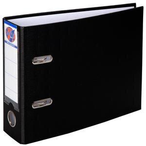 Worldone Telgraf Klasör Geniş A5 Siyah 5'li Paket