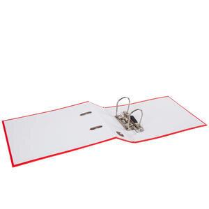 Worldone Telgraf Klasör Geniş A5 Kırmızı 5'li Paket